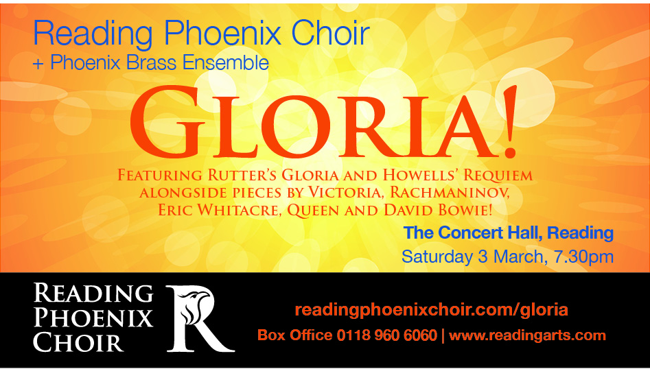 Reading Phoenix Choir's Annual Concert leads the way to a Golden year